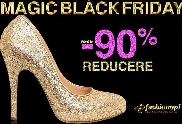 Black Friday 2014 la FashionUP