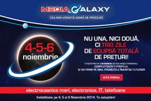 Eclipsa totala de preturi la Media Galaxy timp de 3 zile