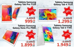 Samsung Crazy Days la eMAG ofera reduceri de pana la 35%
