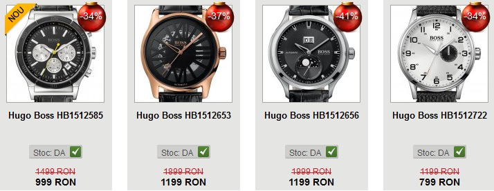 Ceasuri Hugo Boss reduceri