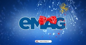 Aniversare eMAG 13 ani – reduceri masive prin carduri cadou eMAG