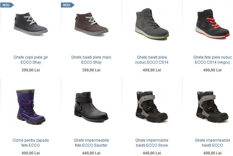 Reducere ECCCO-shoes la incaltaminte copii