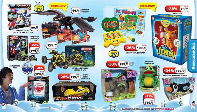 Jucarii Craciun 2014 catalog Noriel