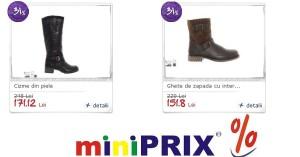 Reduceri miniPRIX de Craciun la produsele cele mai dorite