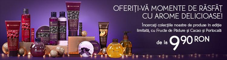 Yves Rocher cosmetice arome delicioase
