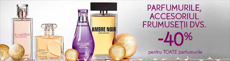 Yves Rocher reduceri parfumuri
