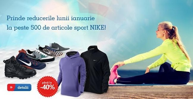 Articole sport Nike la eMAG