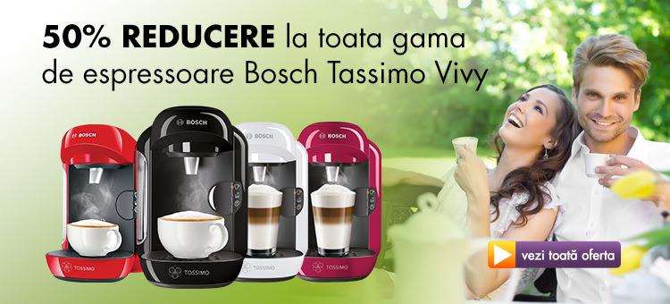 Gama de espressoare Bosch Tassimo Vivy