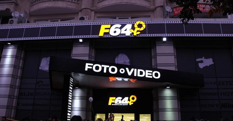 Magazinul F64 Bucuresti