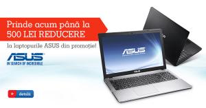 Super reduceri pentru gama de laptopuri Asus la eMAG