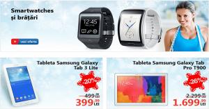 Zilele Samsung la eMAG vin cu reduceri consistente de preturi