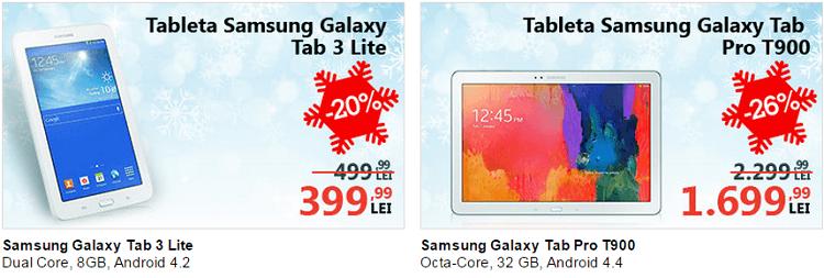 Tablete Samsung reducere eMAG