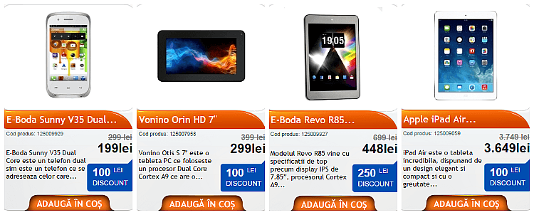 Telefoane tablete reduceri F64