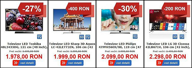 Televizoare reduse MarketOnline