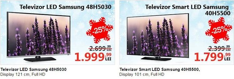 Televizoare Samsung reduceri eMAG