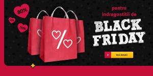 Reduceri de pana la 80% de la Altex pentru Indragostitii de Black Friday