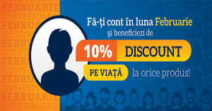 10% discount pe viata de la InterLink daca faceti cont pe site in luna februarie 2015