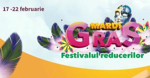 Preturi mai mici cu pana la 80% in Festivalul reducerilor Mardi Gras la Elefant