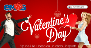 Valentines Day la eMAG