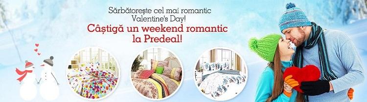 Weekend la Predeal de Valentines Day