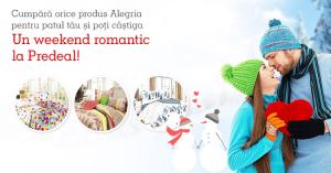 Cumparati produse Alegria de la eMAG si puteti castiga un weekend la Predeal de Valentine's Day