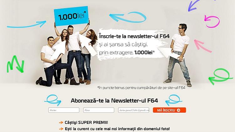 Abonare newsletter F64