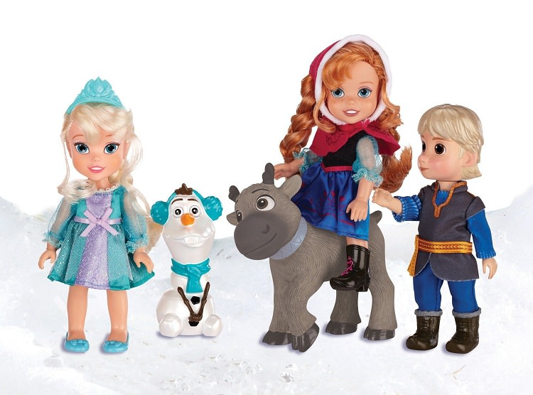Disney Frozen set papusi deluxe