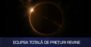 Eclipsa de soare aduce reduceri incepand cu 20 martie