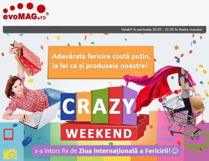 evoMAG Crazy Weekend