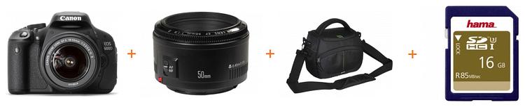 Pchet F64 DSLR Canon 600D