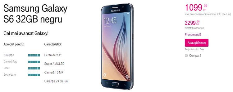 Samsung Galaxy S6 32 GB Telekom