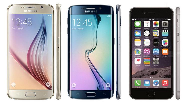 Seria Samsung Galaxy S6 si Apple Iphone 6