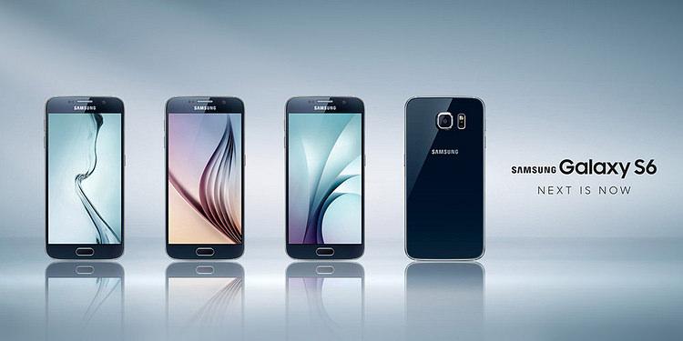 Samsung Galaxy S6. Next is now