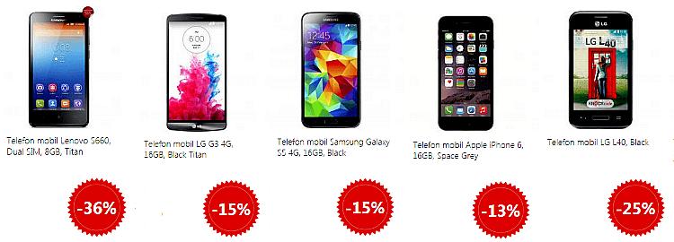 Telefoane Mobile Mania la eMAG