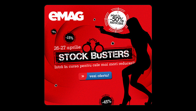 Spring Stock Busters eMAG