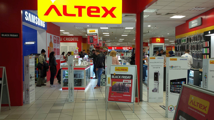 Magazin Altex de Black Friday