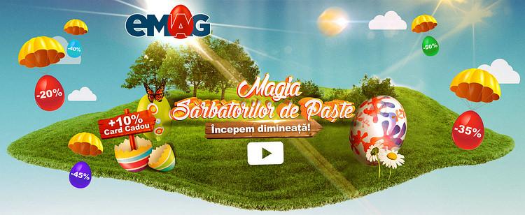 Magia Sarbatorilor de Paste la eMAG promo