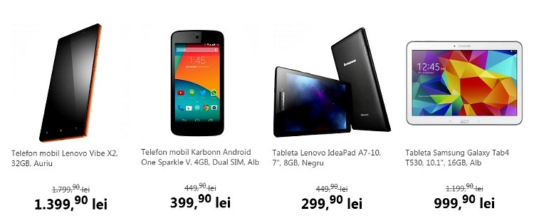 Telefoane Tablete Black Week Flanco