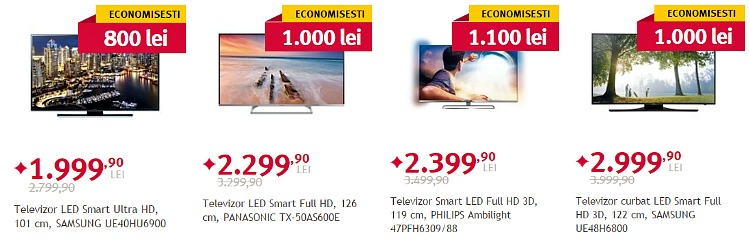 Televizoare Spring Black Friday Altex