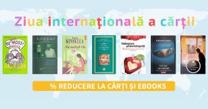 Promotiile organizate de Ziua Internationala a Cartii