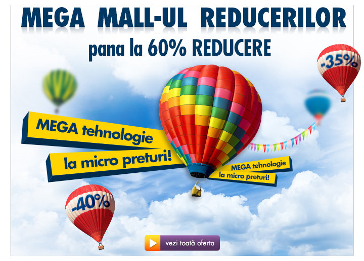 Deschiderea Mega Mall-ului reduceri Flanco