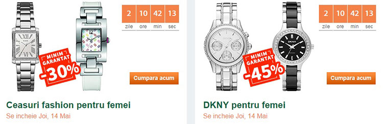Discount garantat ceasuri dama Elefant