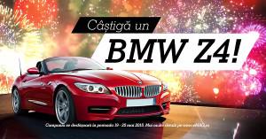 Castiga un BMW Z4 oferit ca premiu de eMAG la aniversarea a 10 milioane de comenzi