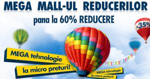 Campanie promotionala pe Flanco.ro la deschiderea Mega Mall-ului din Bucuresti