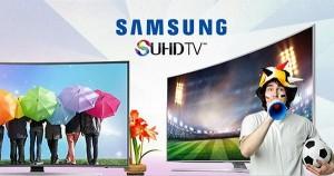 Noua gama de televizoare Samsung va aduce la eMAG un Card Cadou de 20%