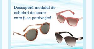 Reduceri la ochelari de soare in 2015