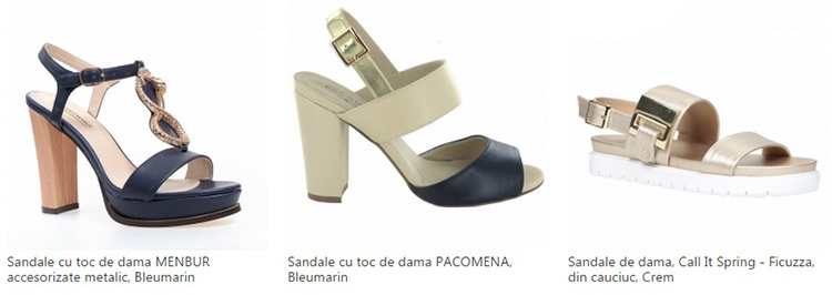 Oferte sandale dama eMAG