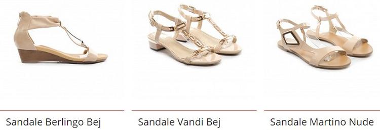 Oferte sandale dama talpa joasa dEpurtat
