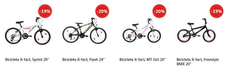 Promotie biciclete eMAG