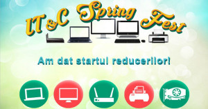 Reduceri in gama IT&C de Spring Fest la evoMAG